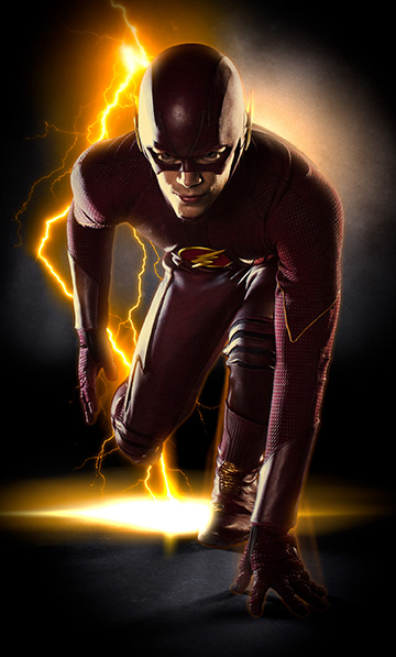 Grant Gustin stars as the Fastest Man Alive, Barry Allen/The Flash, in Warner Bros. Television's The Flash, which is based on the characters from DC Comics. The series debuts October 7 and will air Tuesdays at 8/7c on The CW. (Photo Credit: © Warner Bros. Entertainment Inc. All Rights Reserved.)