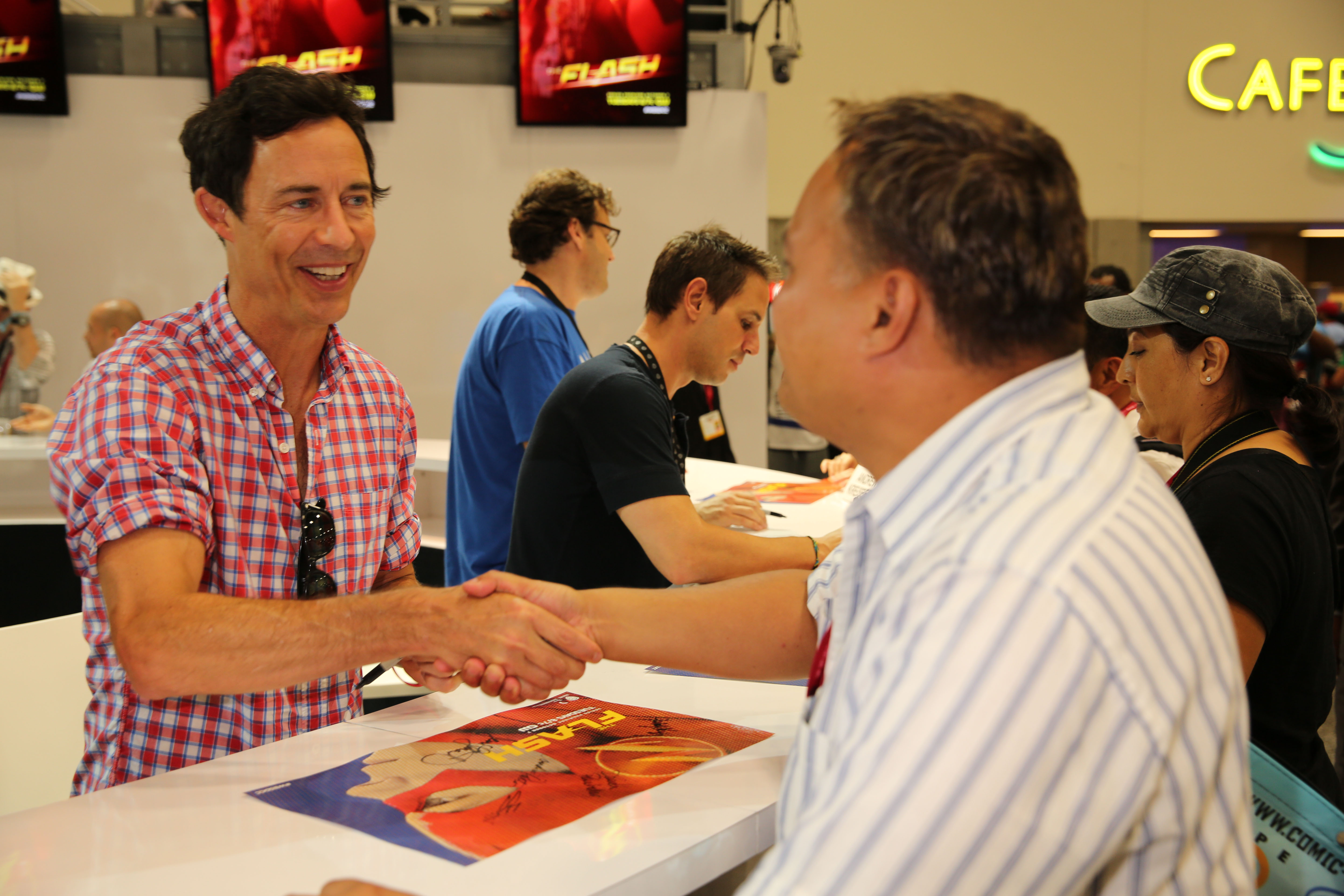 Person of Interest - Signing